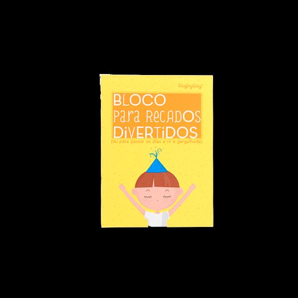 BLOCO PARA RECADOS DIVERTIDOS