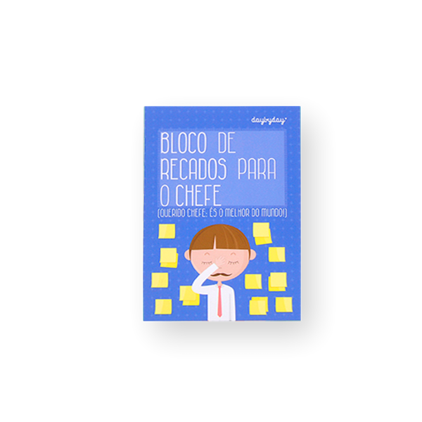 BLOCO DE RECADOS PARA O CHEFE