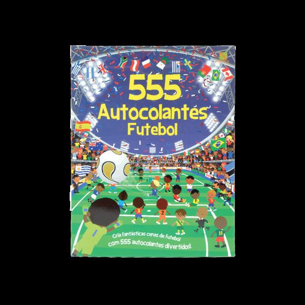 555 AUTOCOLANTES FUTEBOL