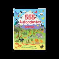 555 AUTOCOLANTES ANIMAIS