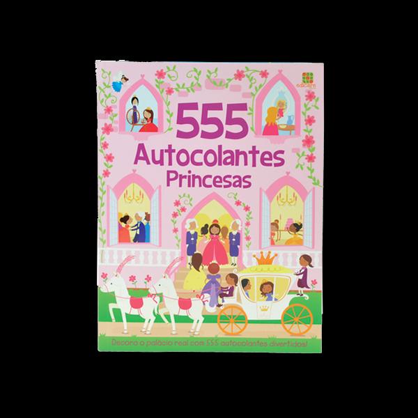 555 AUTOCOLANTES PRINCESAS