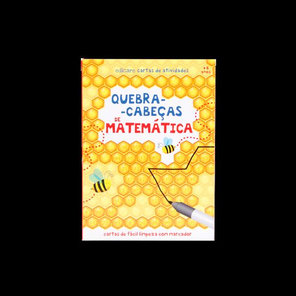 CARTAS - QUEBRA-CABEÇAS DE MATEMÁTICA