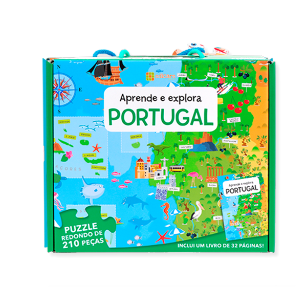 APRENDE E EXPLORA — PORTUGAL (Puzzle 210 Pcs + livro)